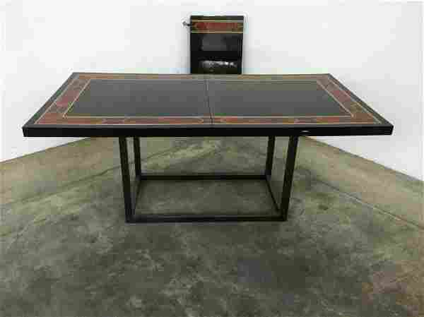 Maison Jansen Dining Table w/One Leaf