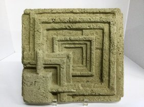 Frank Lloyd Wright Cast Concrete Fragment