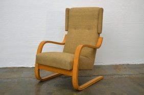 Alvar Aalto High Back Lounge Chair
