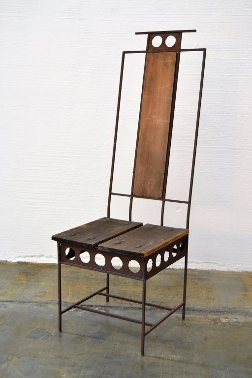 Harry Balmer Rare Brutalist Chair