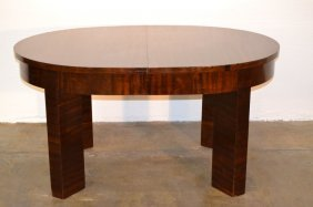 Zebrano Art Deco Dining Tables