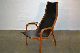 Yngve Ekstrom Chair In Black