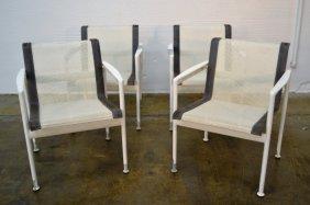 Richard Schultz Four Arm Chairs