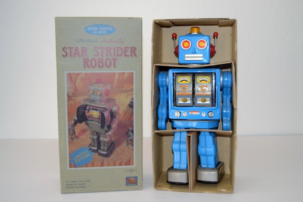 Original Horikawa Star Strider Metal Robot