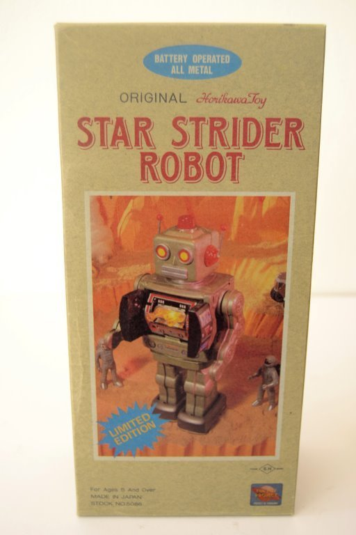 Original Horikawa Star Strider Metal Robot - 3