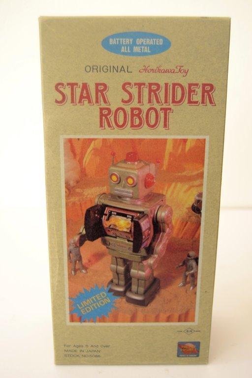 Original Horikawa Star Strider Metal Robot - 3