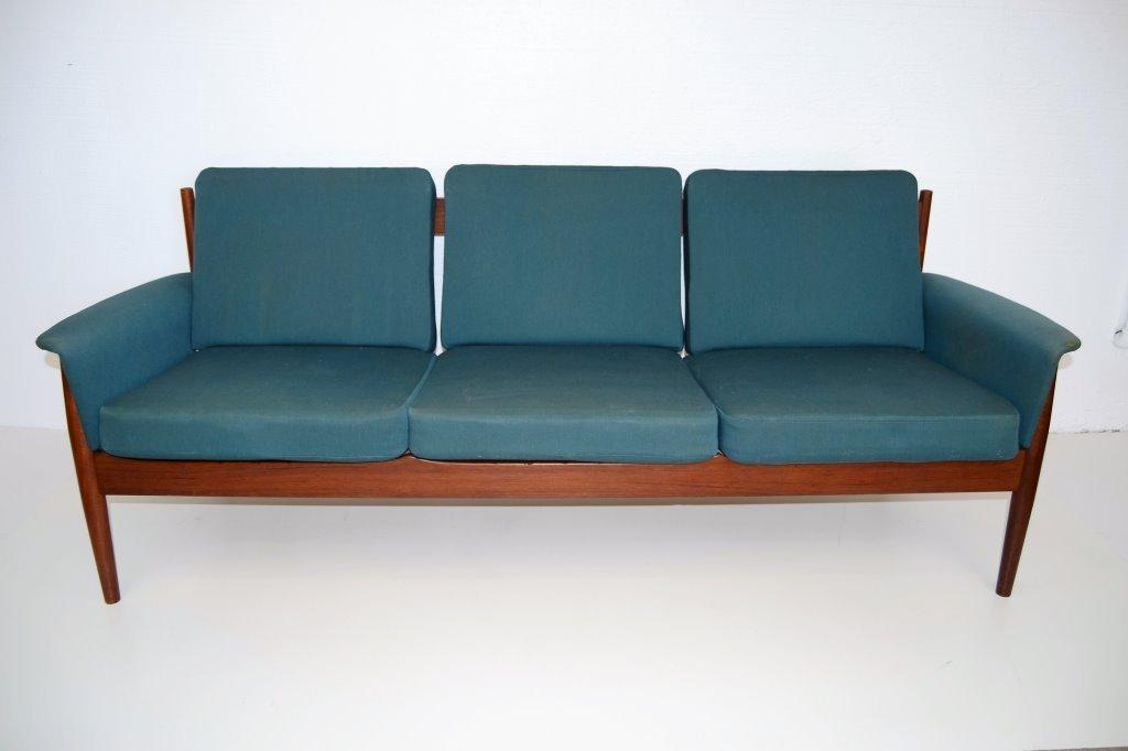 Grete Jalk Mid Century Scandinavian Teak wood Sofa