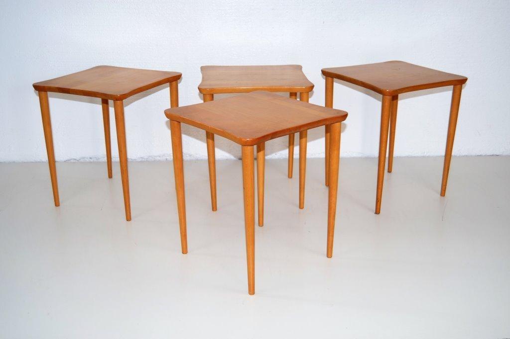 Edmund Spence Stacking Drink Table Set