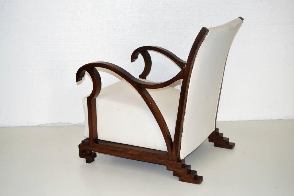 Italian Art Deco Arm Chair