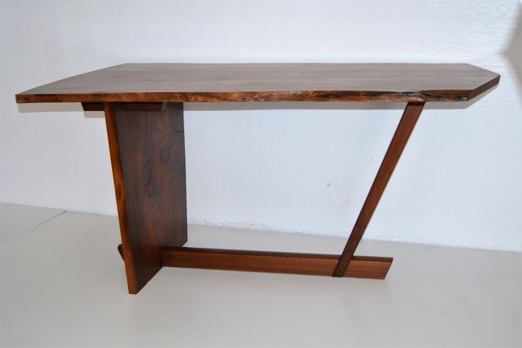 George Nakashima Important Minguren Desk & Chair - 7