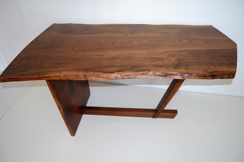 George Nakashima Important Minguren Desk & Chair - 8
