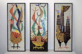 Evelyn Jerome Ackerman Mosaic Panels