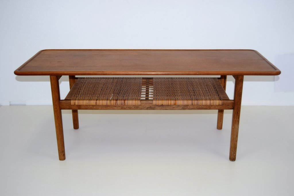 Hans Wegner Cocktail Table for Andreas Tuck-Signed