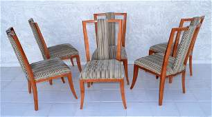 Tommi Parzinger Style Chairs Set of Six