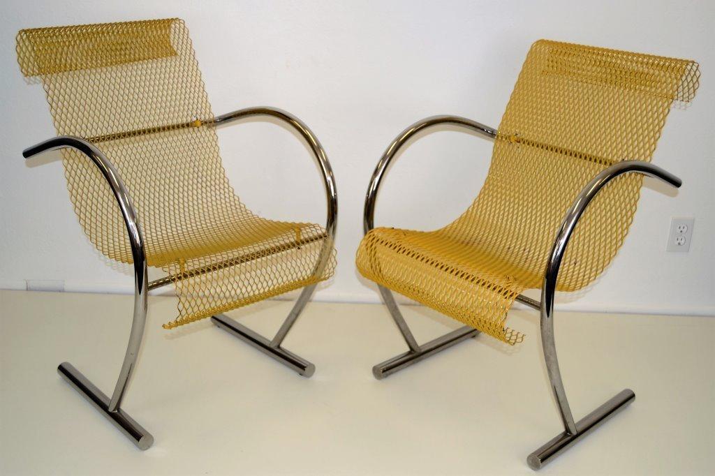 """Shiro Kuramata """"Sing Sing Sing"""" Chairs"""