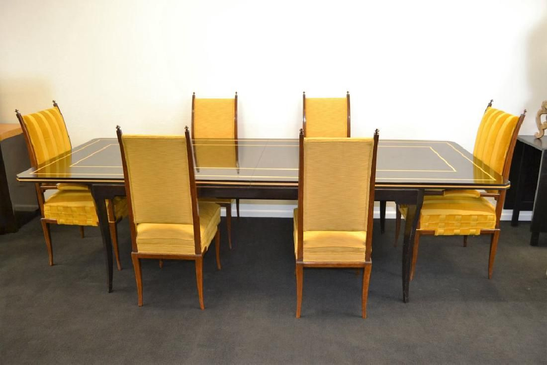 Tommi Parzinger Custom Table w/6 Chairs