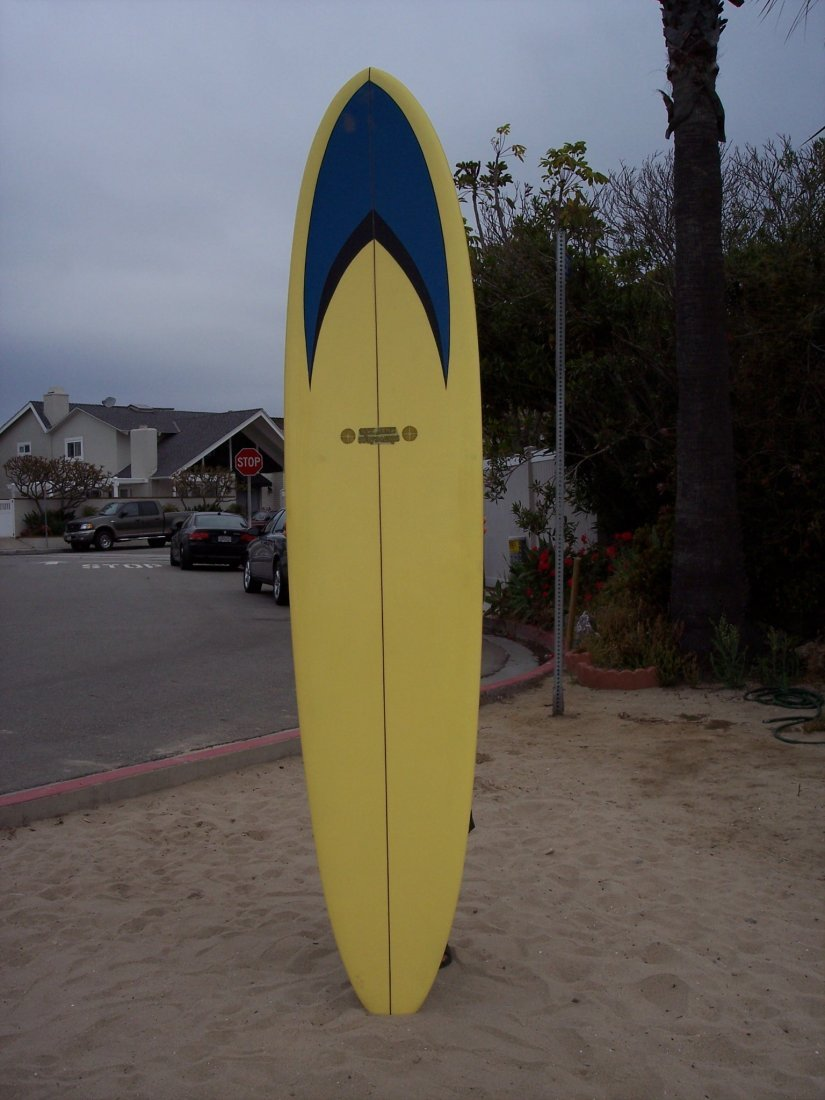 102A: 1966 Single Fin Surfboard {Rick James}