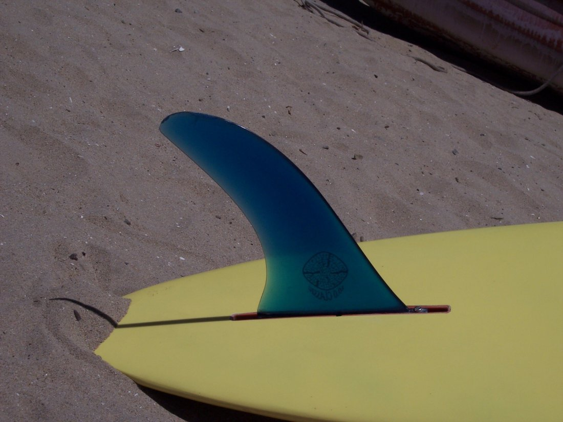 102A: 1966 Single Fin Surfboard {Rick James} - 4