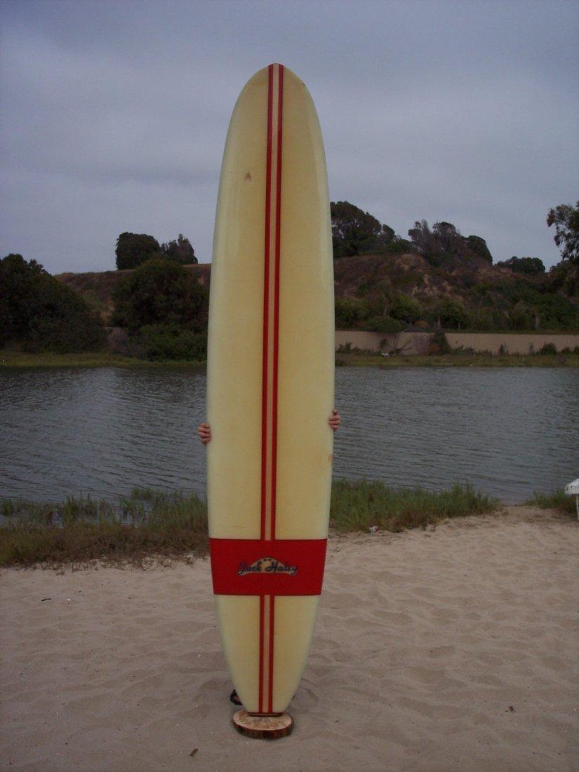 105: 1962 Balsa Stringer Surfboard, No. 47 {Jack Haley}