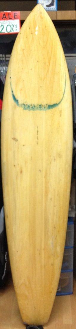 147A: Balsa Gun Surfboard {Mobley}