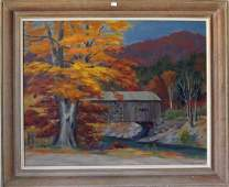 5 Lee Winslow Court oil on canvas Melody of Autumn