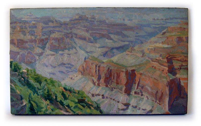 "5: Paul Inglis oil on canvas, ""The Grand Canyon Arizona"