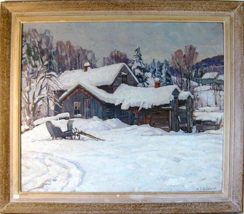 41: *Aldro Thompson Hibbard oil on canvas, titled on re