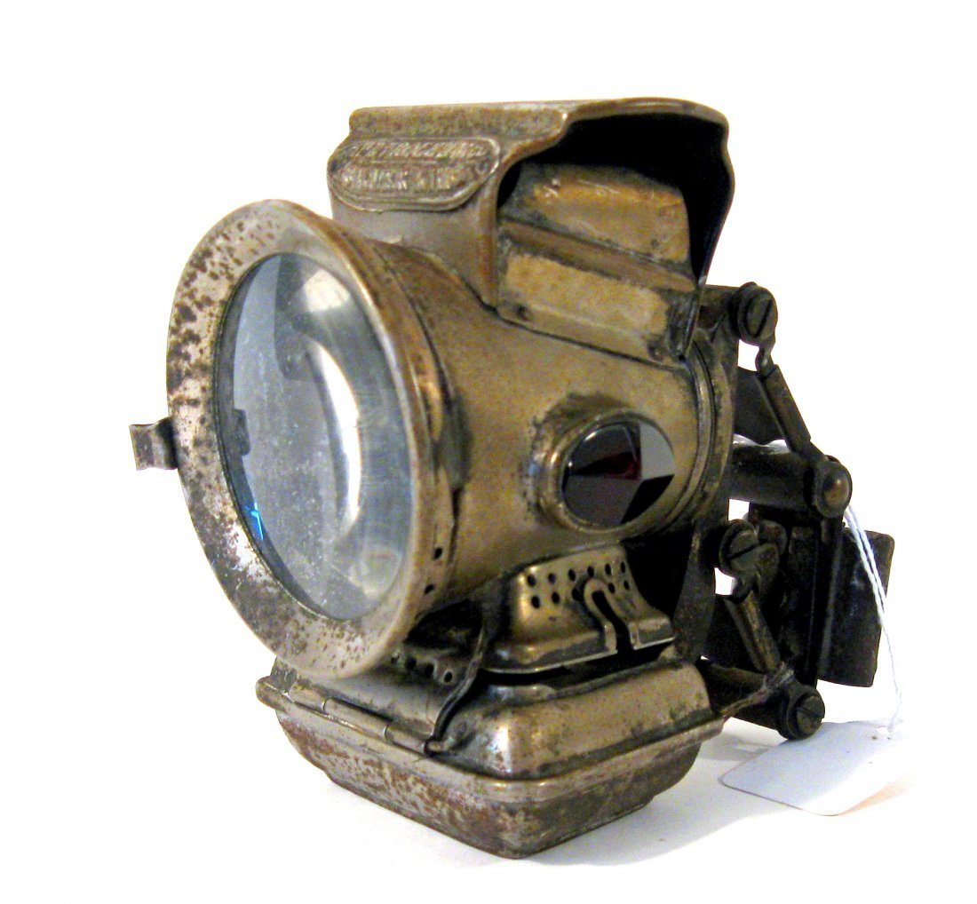 Petroleum Silver King, suspension bicycle lamp! Conditi
