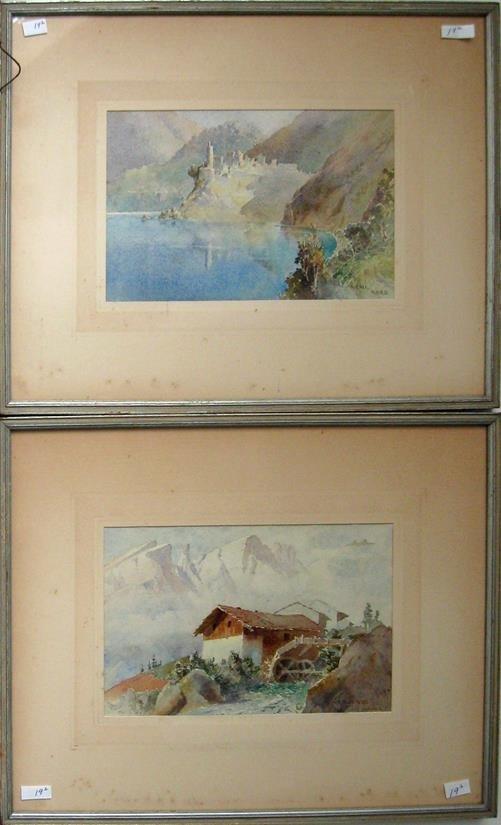 Pair of Col Henry Richard Beadon Donne mountain