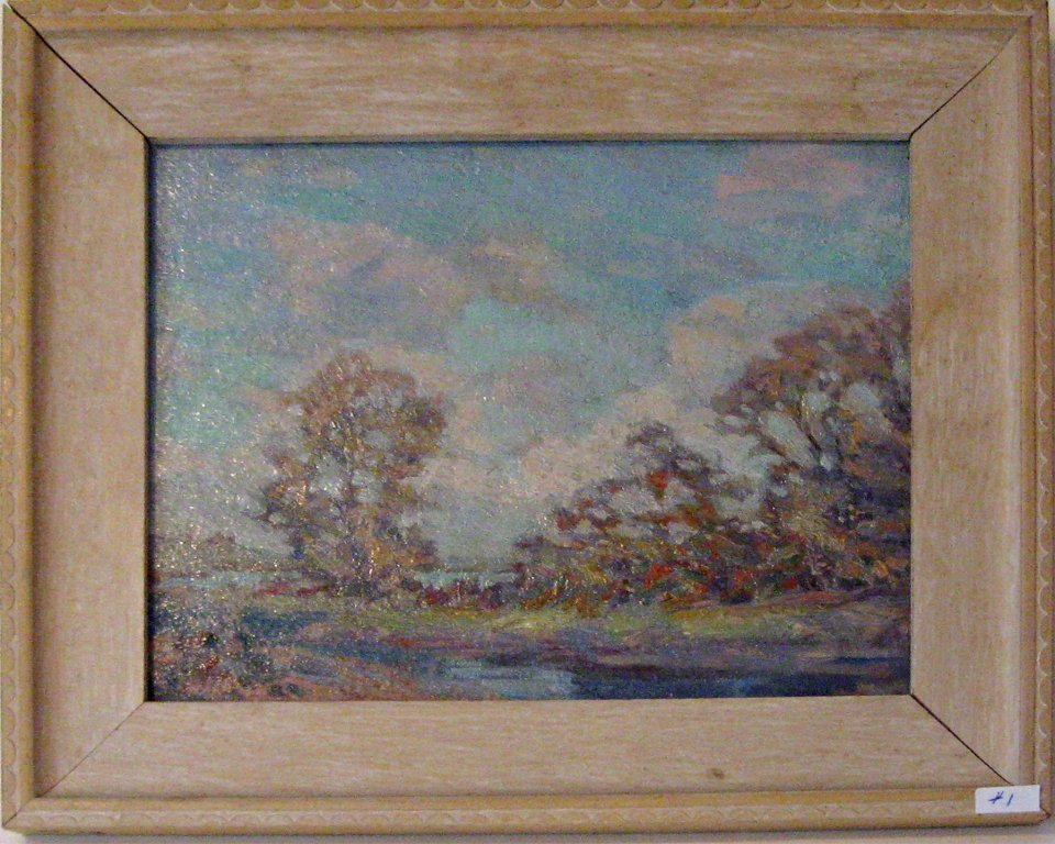Attributed to Henry Rodman Kenyon, oil on board