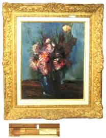 Maurice de Vlaminck oil on canvas still life with