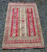 Persian Oriental scatter rug 70 by 48 inches
