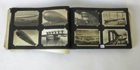 Album Of Souvenir Cards And Old Photos, Including