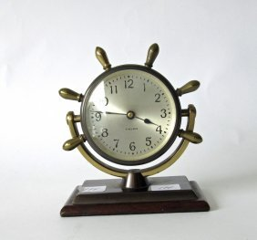 Chelsea Desk Clock, 5 Inches Tall.