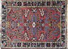 Persian Oriental scatter rug Condition good