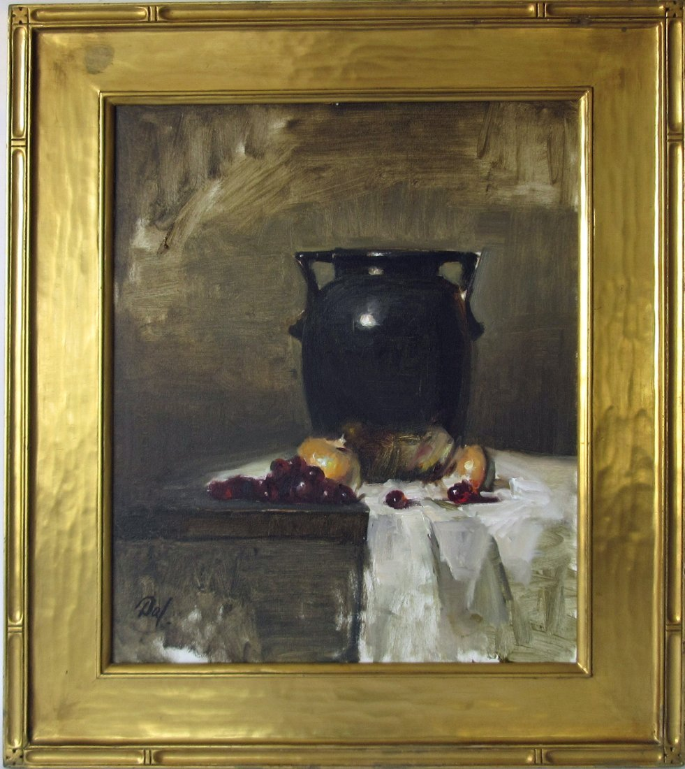 Dal oil n canvas still life, 20 by 16 inches, signed