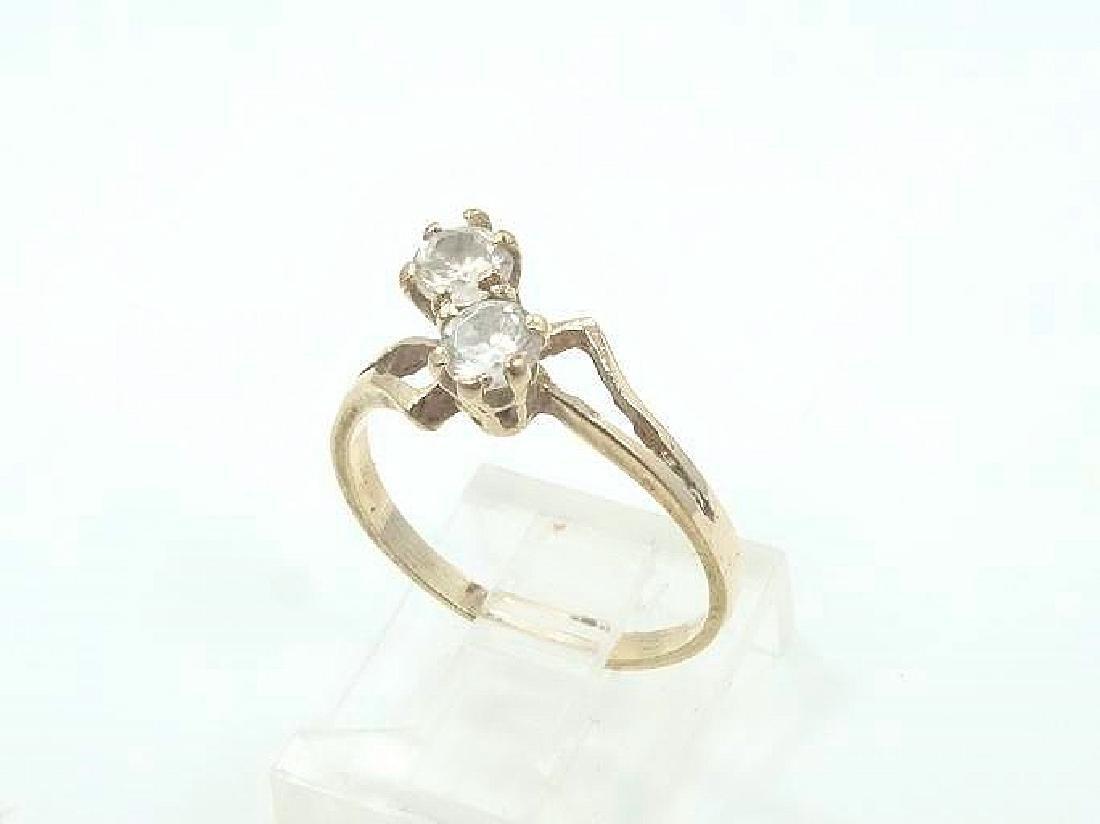 0.50ctw Diamond & 10K Yellow Gold Ring
