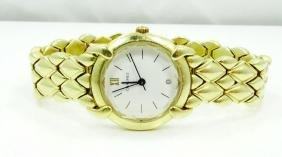 Chaumet Paris Elysees 18K Gold Ladies Watch