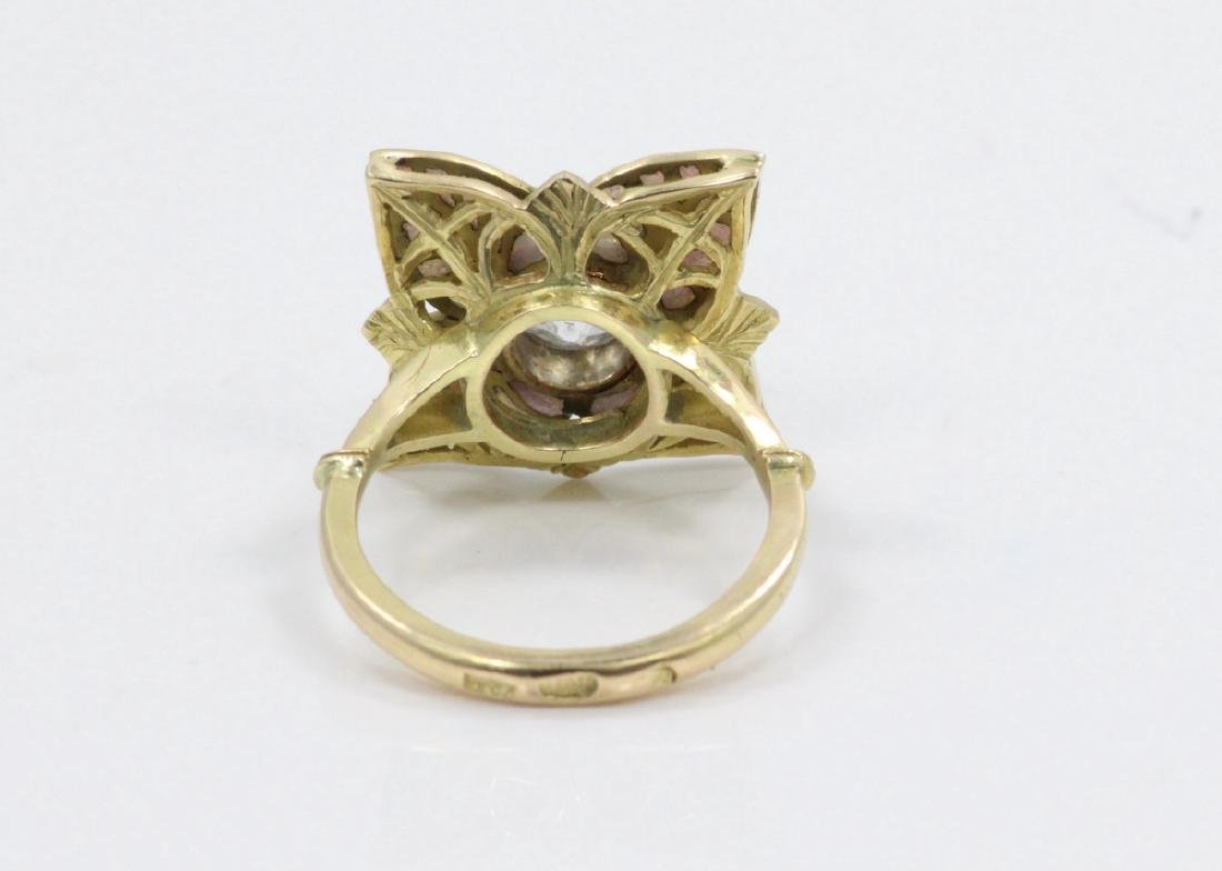 Karl Faberge 18K & Plat 2.30ct Diamond Ring - 9