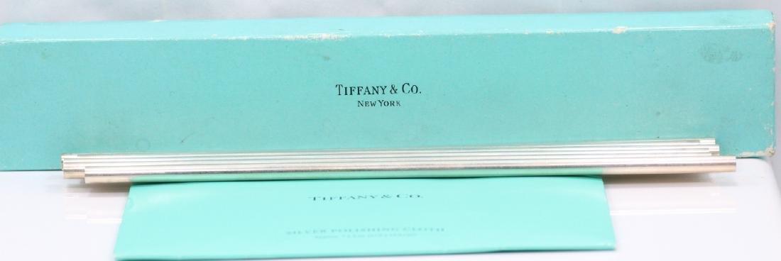 Tiffany & Co. NY 925 Straws in Box W/Polish Cothe