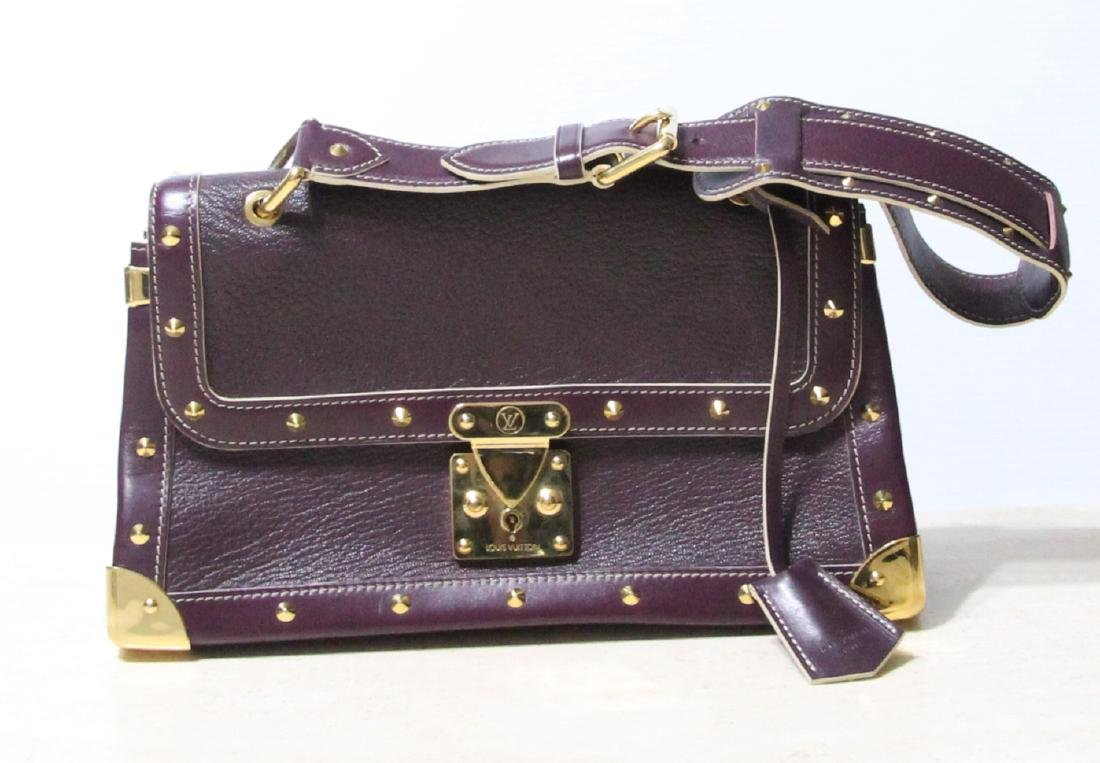 Louis Vuitton Suhali Plum Handbag *RETIRED*W/Keys