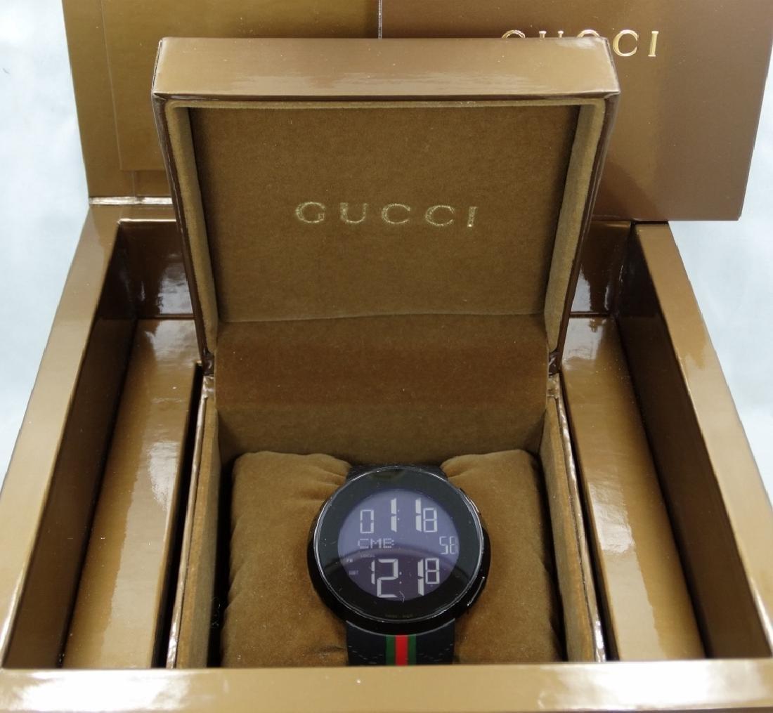 """Gucci """"I-Gucci"""" Digital Multi-Function Watch"""
