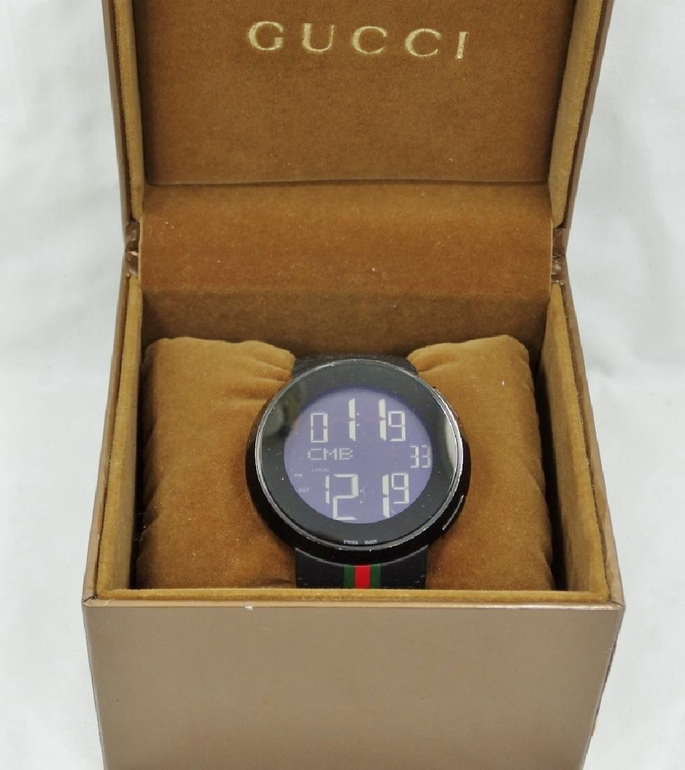 """Gucci """"I-Gucci"""" Digital Multi-Function Watch - 2"""