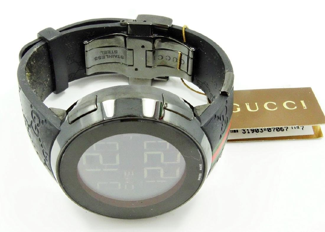 """Gucci """"I-Gucci"""" Digital Multi-Function Watch - 4"""