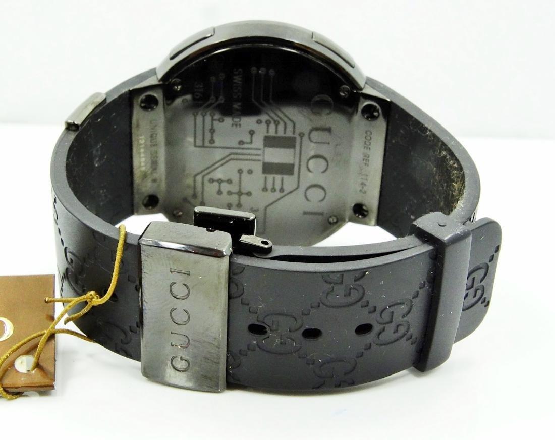 """Gucci """"I-Gucci"""" Digital Multi-Function Watch - 7"""