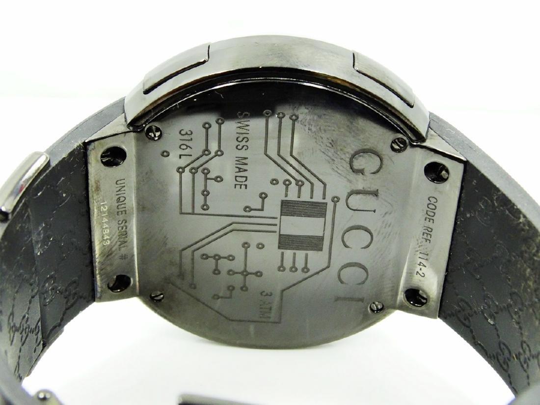 """Gucci """"I-Gucci"""" Digital Multi-Function Watch - 8"""