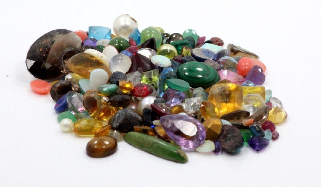 Lot of UNSEARCHED Genuine Gemstones **READ** - 2