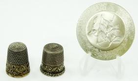Lot of Vintage Sterling Silver Trinkets