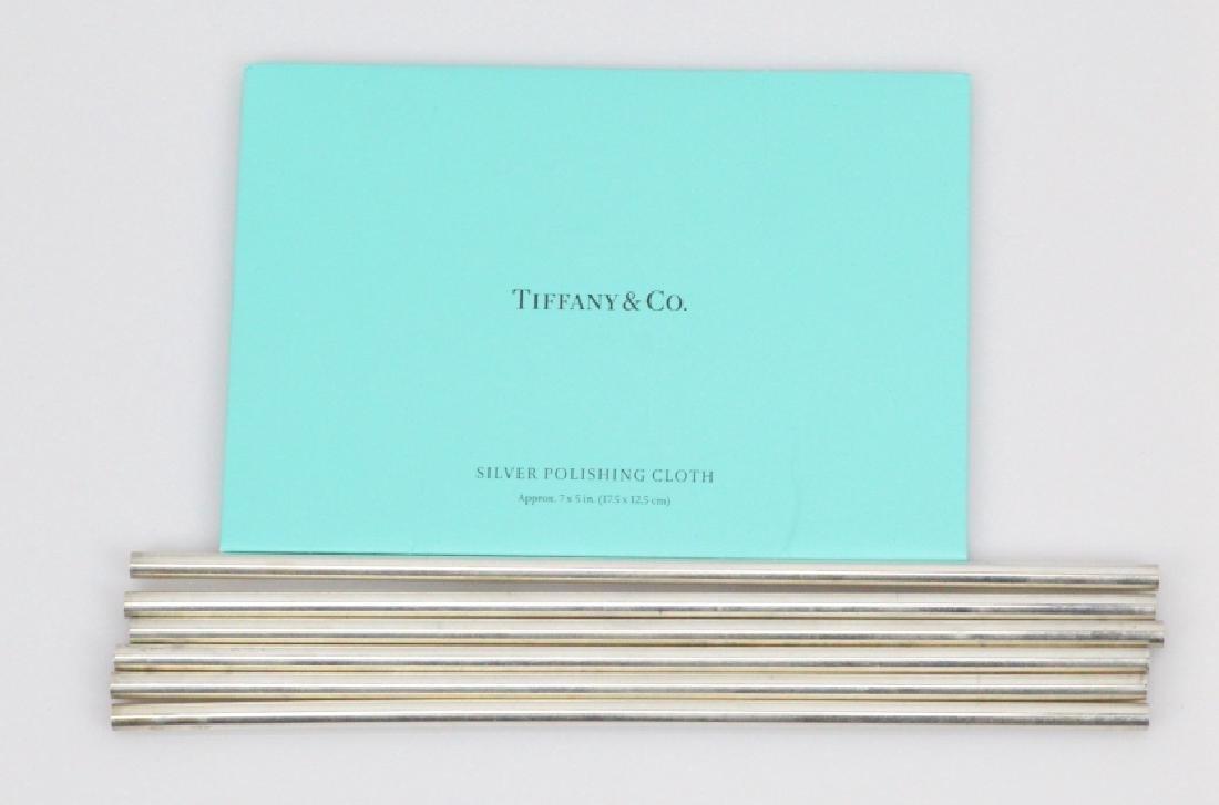 Tiffany & Co. New York (6)Sterling Silver Straws