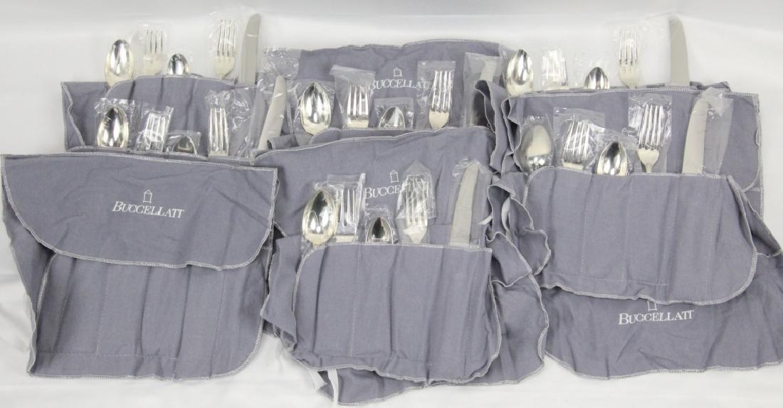 Buccellati Parma Set for (16) Sterling Flatware